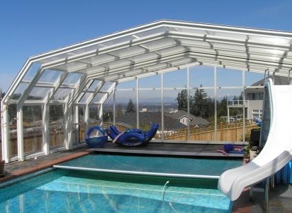 Stoett | Indoor Outdoor Enclosure | freestanding pool cover 320