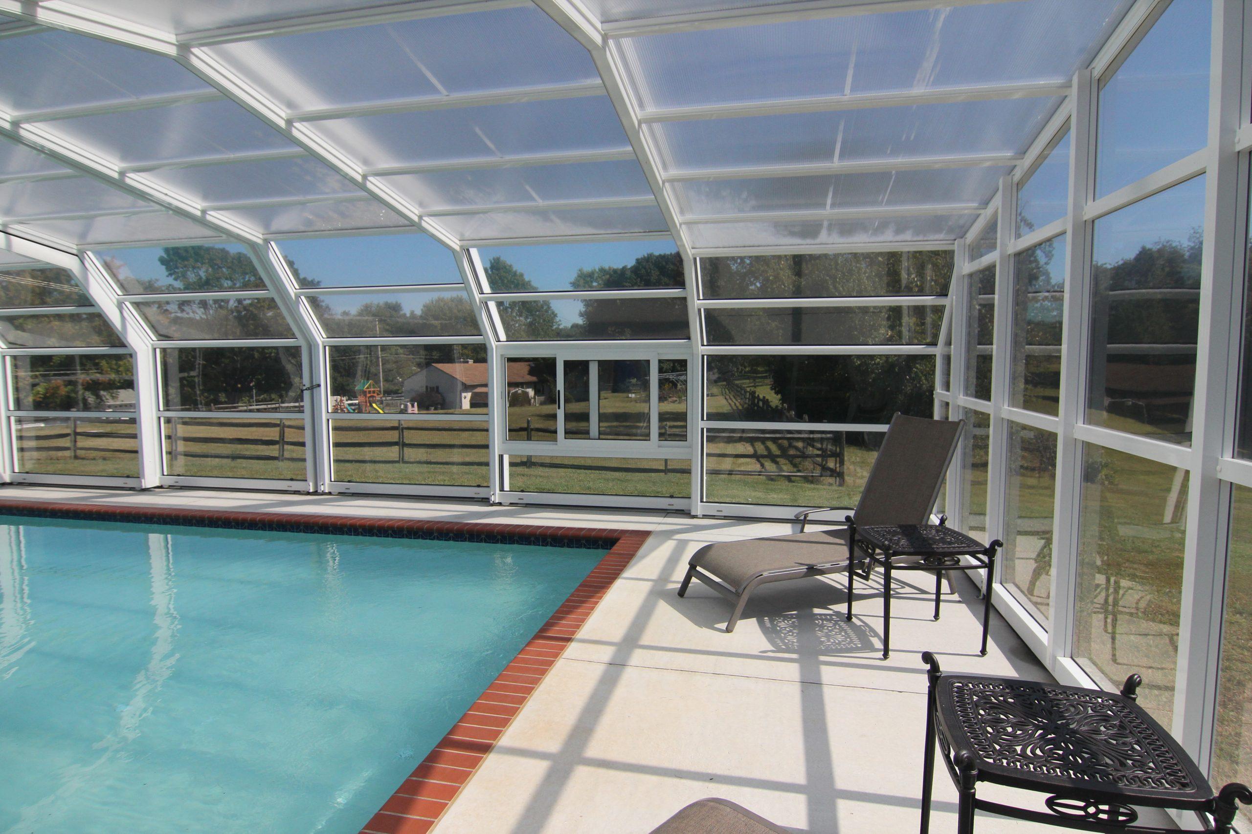 Stoett   AquaSun Retractable Pool Enclosures