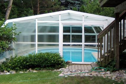 Stoett | Indoor Outdoor Enclosure | freestanding pool cover 157