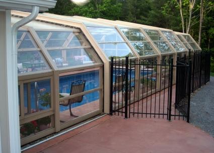 Stoett   Indoor Outdoor Enclosure   freestanding pool cover 120