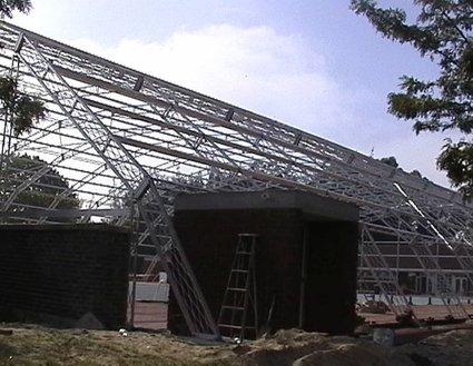 Stoett | Indoor Outdoor Enclosure | freestanding pool cover 149