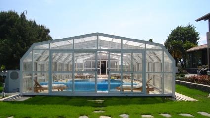 Stoett   Indoor Outdoor Enclosure   freestanding pool cover 27