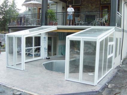 Stoett   Indoor Outdoor Enclosure   freestanding pool cover 199