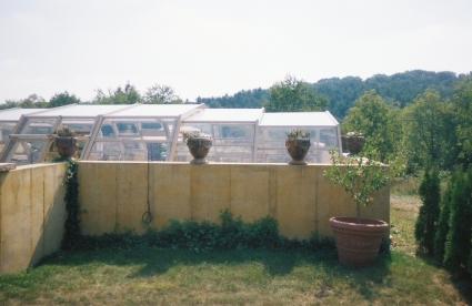 Stoett | Indoor Outdoor Enclosure | freestanding pool cover 48