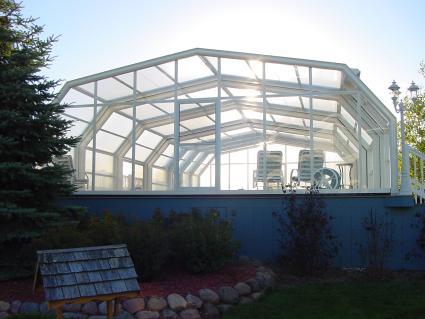 Stoett   Indoor Outdoor Enclosure   freestanding pool cover 303