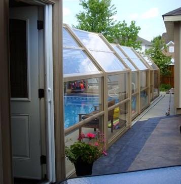 Stoett | Indoor Outdoor Enclosure | freestanding pool cover p4557.11