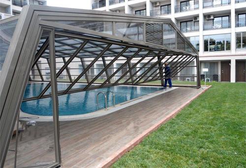 Stoett | Indoor Outdoor Enclosure | freestanding pool cover 20