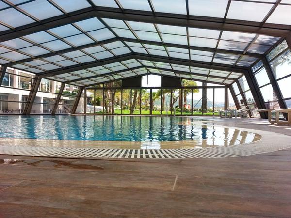 Stoett | Indoor Outdoor Enclosure | freestanding pool cover 619