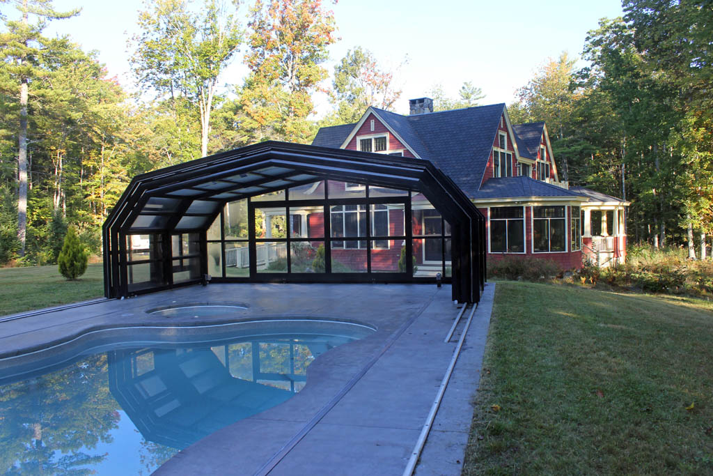 Stoett | Retractable Pool Enclosures | Maine Enclosure 107