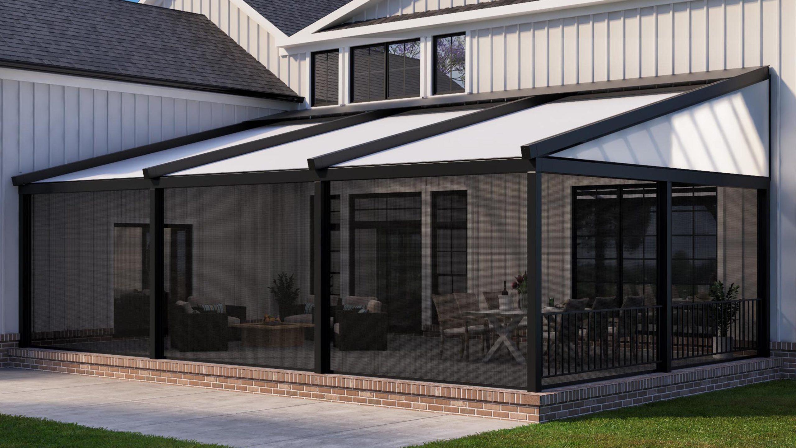 PergoFlex Roof Open Exterior